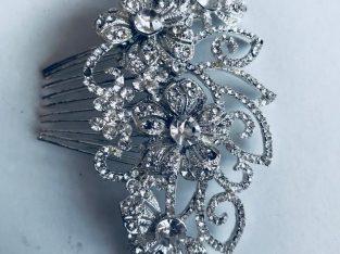 For sale Diamanté hair piece