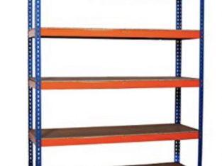For sale Warehouse garage shed heavy duty shelving / racking (big dug) 5 shelf