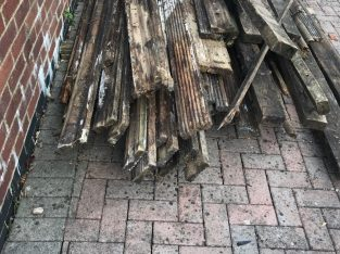 3.6m long Decking and sawn timber