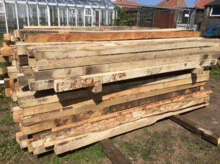 For sale Hardwood Posts 7′