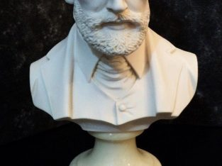 For sale A Bust of the Composer Tchaikovsky in Alabaster and Signed by Sculptor