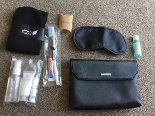 Personal travel kit – Cerruti 1881 Gulf Air Business Class