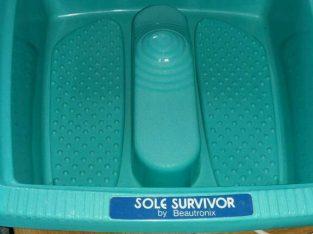 Sole Survivor vibrating footbath
