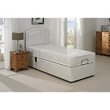 Great condition Reclining bed – base/headboard and optional mattress 4/5months old