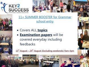 Grammar entry course 11+