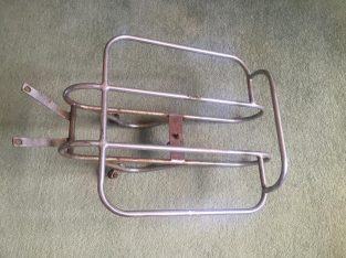 Lambretta Vintage rear Carrier rack spare wheel holder luggage ld S1 s3 s3 scooter 125 150 li vespa