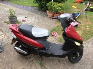 2008 50 cc moped for parts or repairs