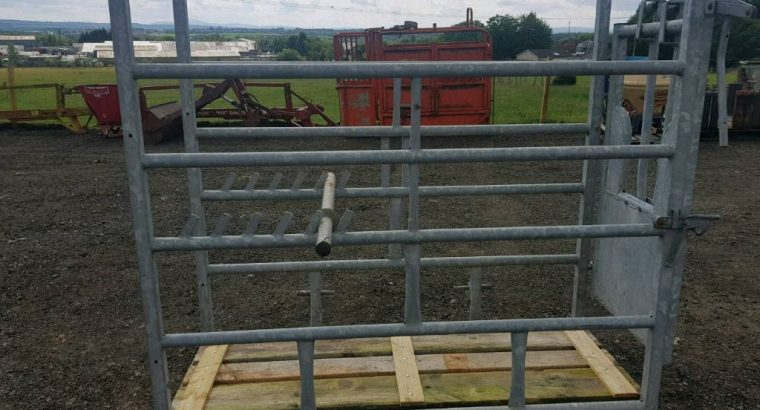 Excellent condition Iae economy cattle crush in excellent condition farm livestock tractor