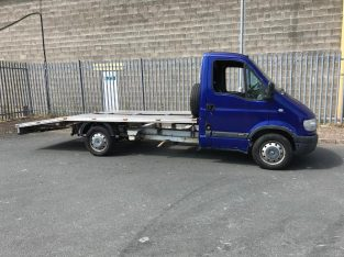 Recovery truck Vauxhall movano 2.5 dti beavertail transporter same as Renault master