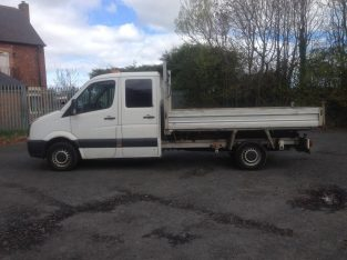2012 12/12 VW CRAFTER CR35 TDI 136 LWB TIPPER