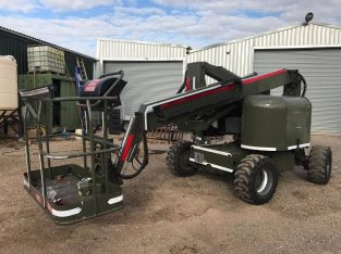 FULLY ARTICULATED DIESEL 4WD TEREX TR50-RT F ALL TERRAIN CHERRY PICKER