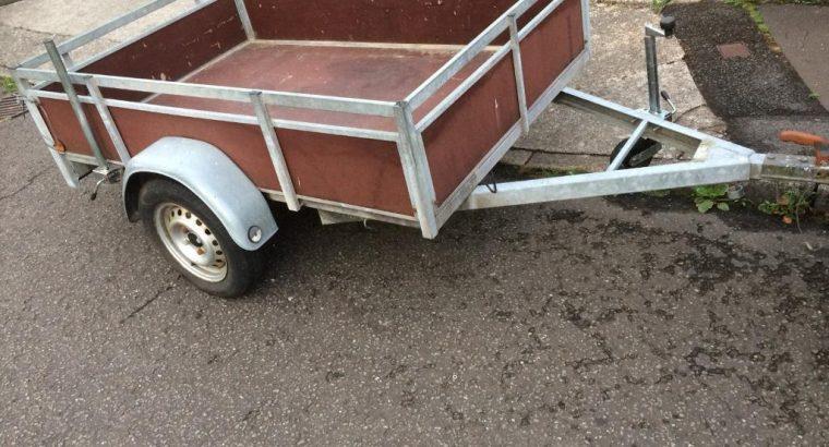 Excellent condition Galvanised trailer