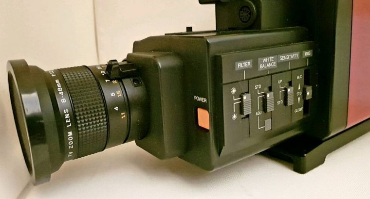 Camcorder JVC Retro/Vintage Compact VHS Camera