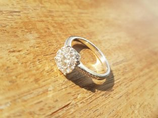 Personally made engagement ring