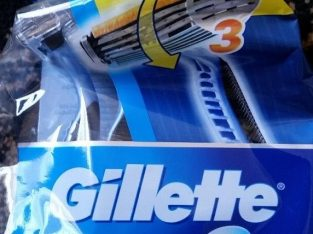 Gillette Blue 3 Brand New & Unused in original unopened packing – 12 razors