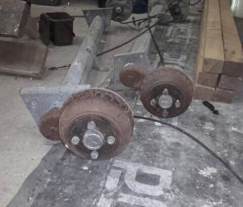 Used Alko trailer axles