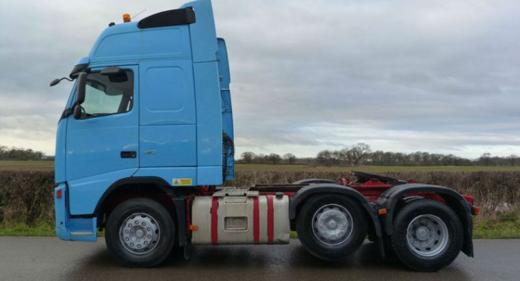 2007 Volvo FH 13 480 6 X 2 Globetrotter XL Tractor Unit