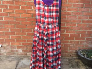 Long dress Tartan