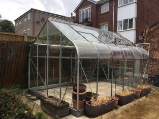Free Greenhouse 13ft x 8ft