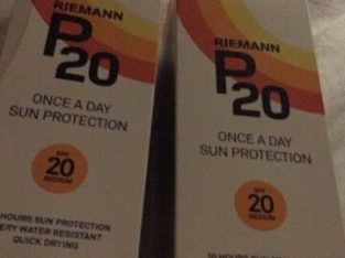 For sale Riemann P20 sun protection 200mlX2