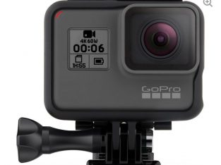 Black Camera GoPro hero 6