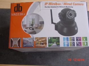ONLY £13.00 IP Webcam Internet CCTV Camera Infrated Night View WiFi Wireless Pan Tilt IR White