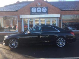 MERCEDES BENZ S CLASS S350d AMG Line 4dr Auto [Executive] VAT Q 2016