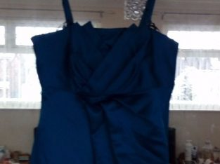 Excellent condition Teal Bridesmaid Dress