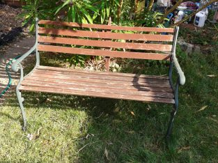 Weathered style Garden Bench
