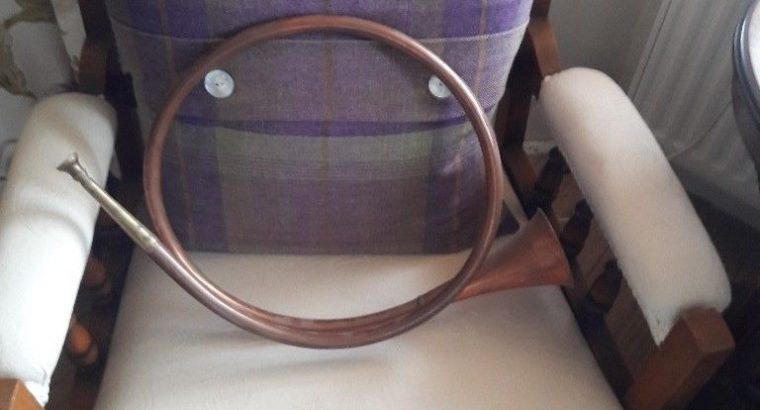 For sale Copper and brass horn