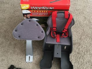 Excellent condition Wee Ride Front Child Bike Seat