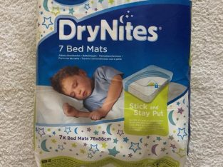 Pack of 7 mats – DryNites Bed Mats