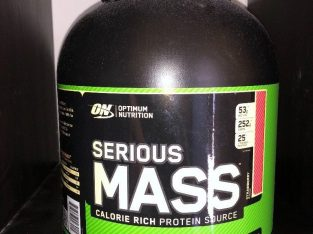 Unused Optimum Nutrition Serious Mass