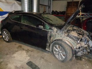 Breaking all parts Vauxhall Astra 1.4 GTC Canvey Island, Essex