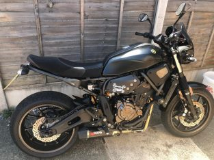 Excellent condition Scorpion exhaust xsr700