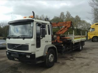 2001 Volvo FL 220 4X2 DAY 18T DROPSIDE