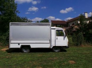 1987 Classic French Peugeot J9 Catering Van Food Truck