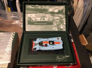 Limited Edition Scalextric Fly Gulf Porsche 917k SM3 Steve McQueen Collection
