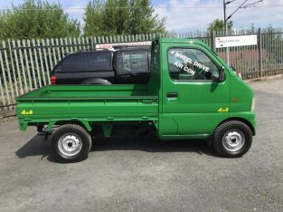 Pick up truck 4×4 Suzuki Carry air con from Japan
