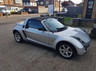 low mileage smart roadster not fortwo or fiesta