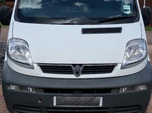 Spares or repair Vauxhall Vivaro