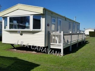 3 bedroom 8 berth for hire/rent located on Waterside Leisure Park Ingoldmells B14