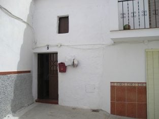 Old house in lovely village of Guaro, Andalucia, Spain