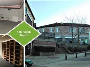 RETAIL UNIT OR OFFICE | Flexible Terms | LOW RENT | High Street, Felling