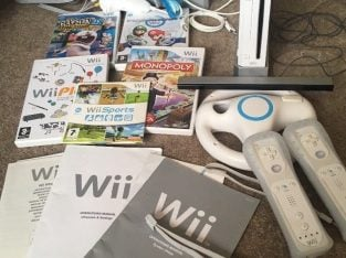 £25 Nintendo Wii incl games