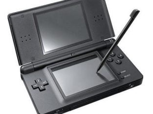 FULLY WORKING BLACK NINTENDO DS LITE CONSOLE