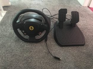 Xbox 360 Steering Wheel & Pedals