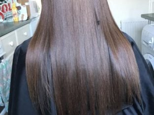 Fully qualified hairdresser – LA Weave and Micro Ring Hair Extensions