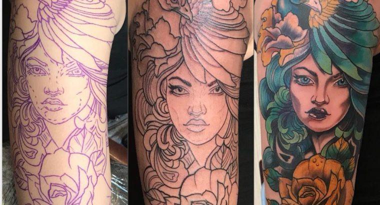 Tattoo artist – Professional
