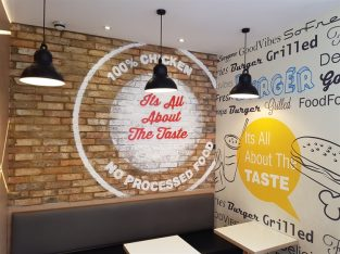 Newly modernised Chicken Cottage Clapham Junction London